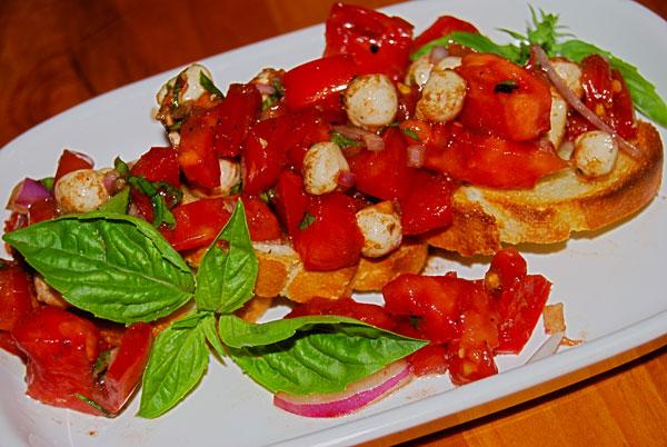 Tomato Herb Bruschetta