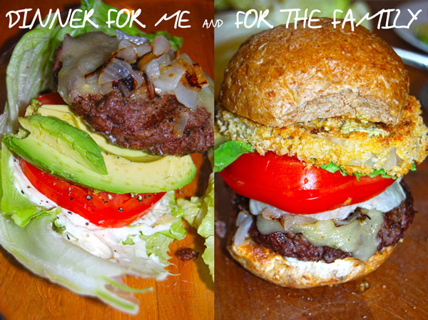 Low Carb BBQ Burgers