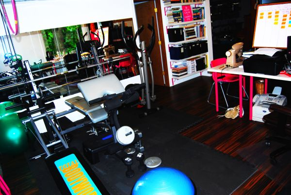 Home Gym Exercise Room