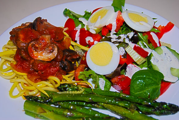 Low Carb Vegetarian Spaghetti