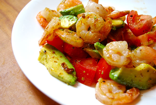 Low Carb Shrimp Salad