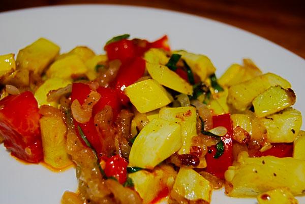 Yellow Squash Lunch