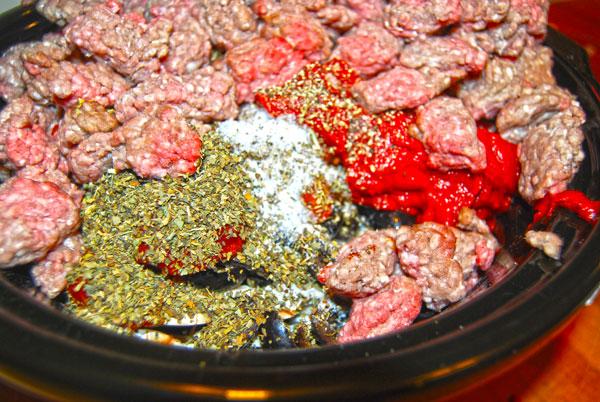 Crockpot Meat Sauce