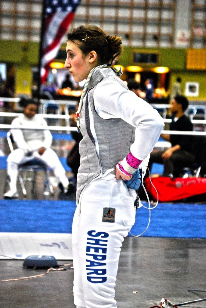 Fencing Junior Olympics, Portland OR